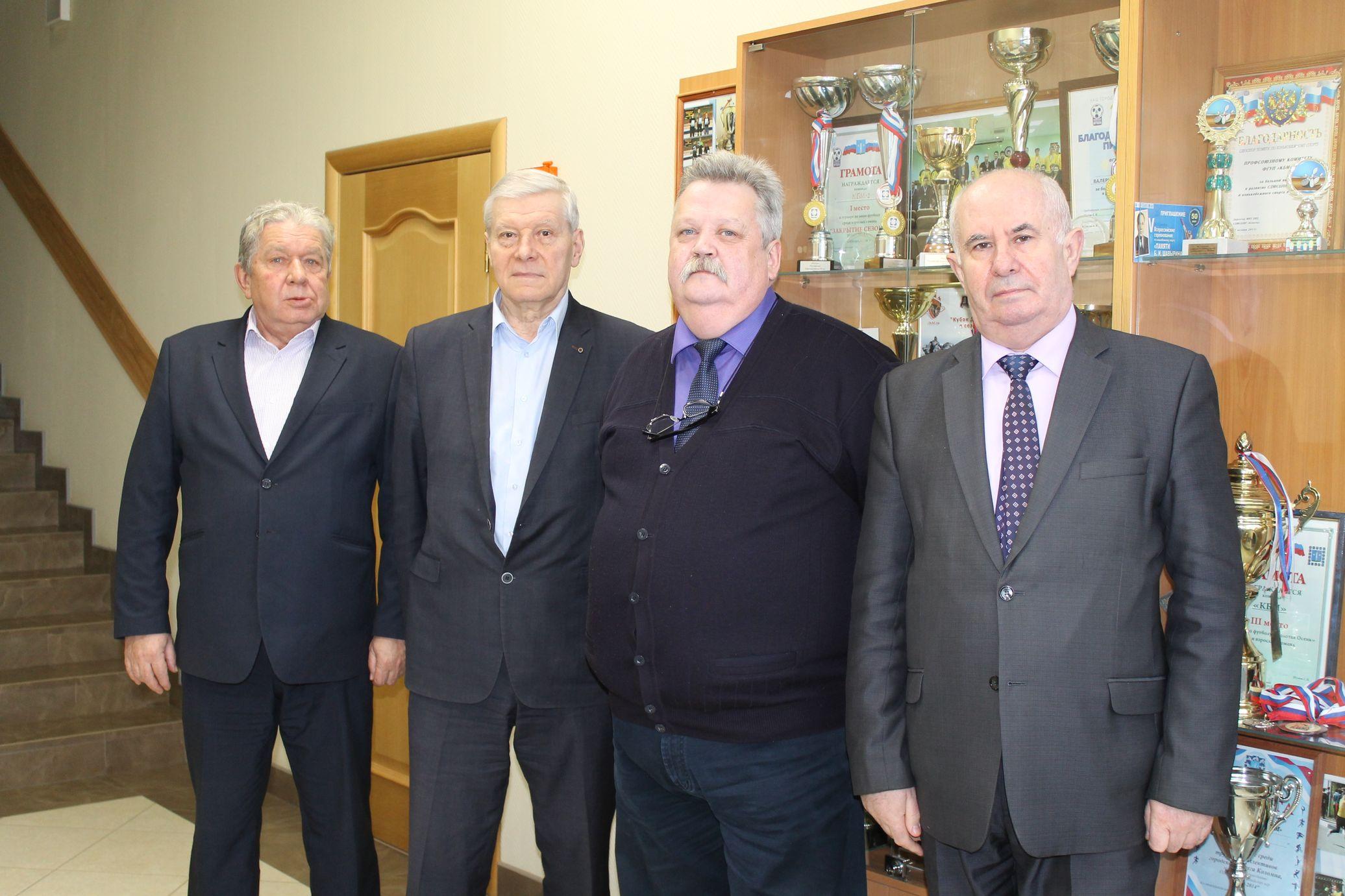 Председатель РОСПРОФПРОМ побывал в КБМ с целью подготовки к выборам