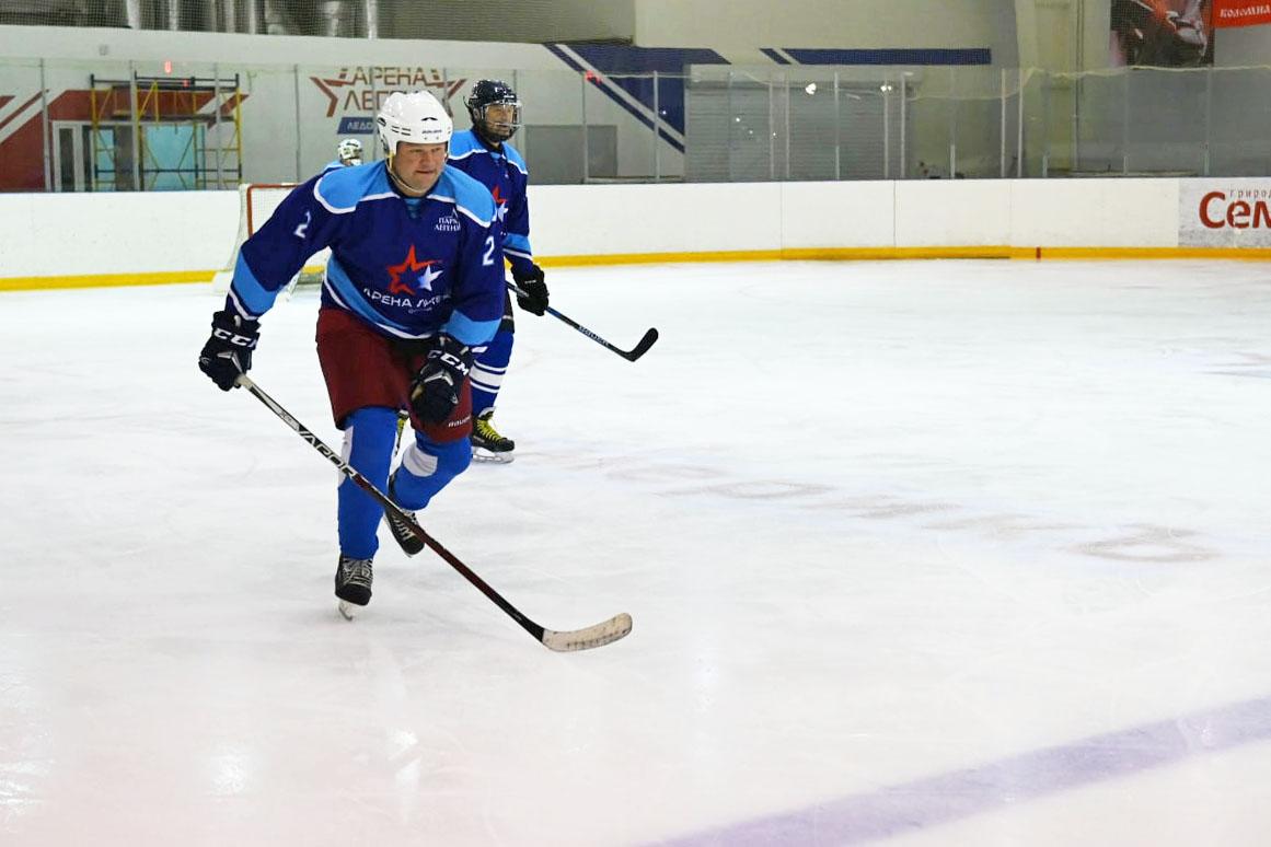 В Озёрах проведут Кубок главы Коломенского городского округа по хоккею с шайбой среди ветеранов 45+