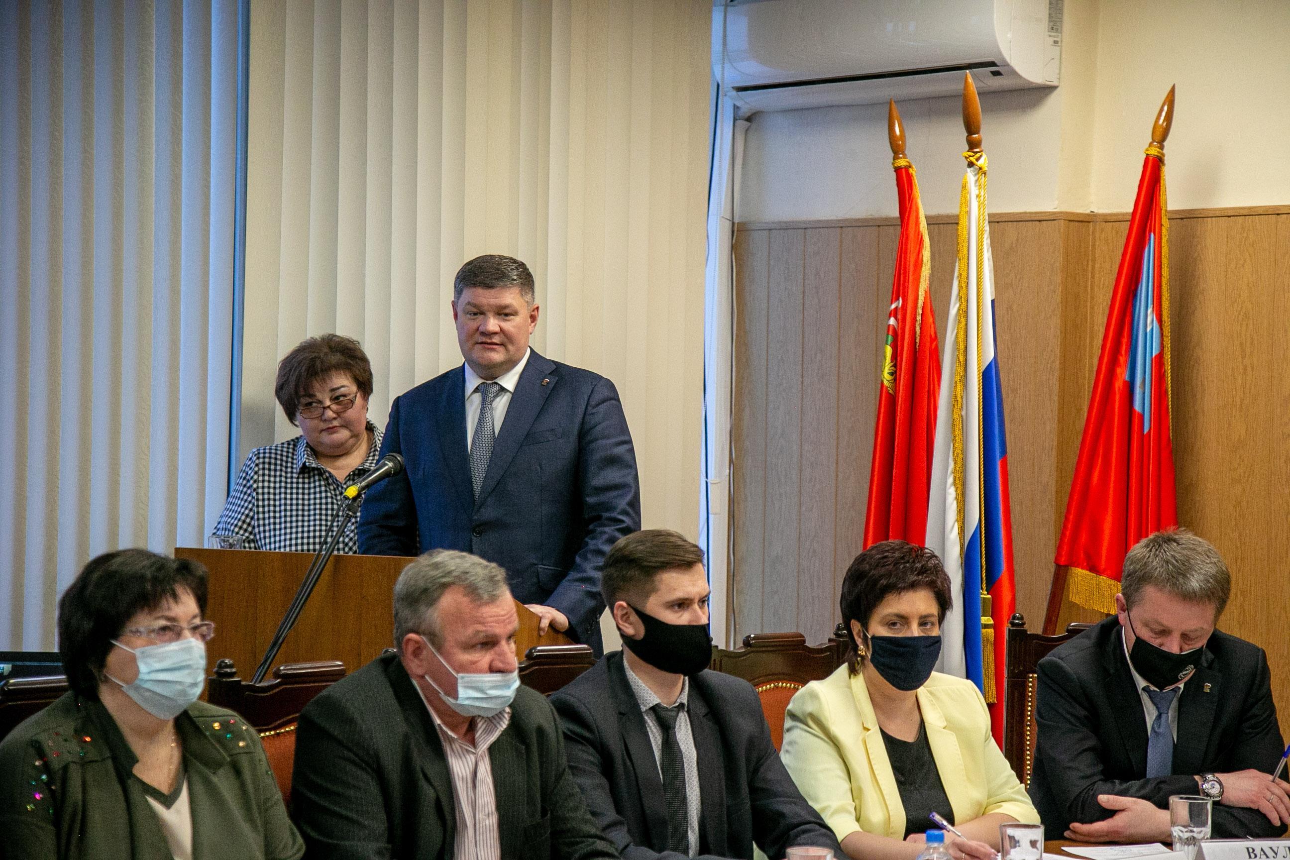 Новый Совет депутатов Коломны провел первое заседание