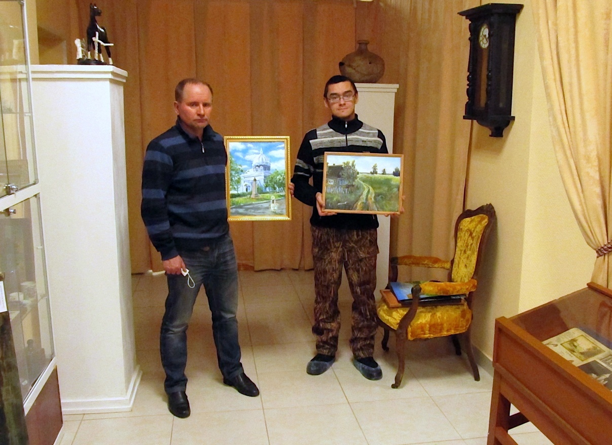 В Озёрах готовится выставка картин Руслана Жураева