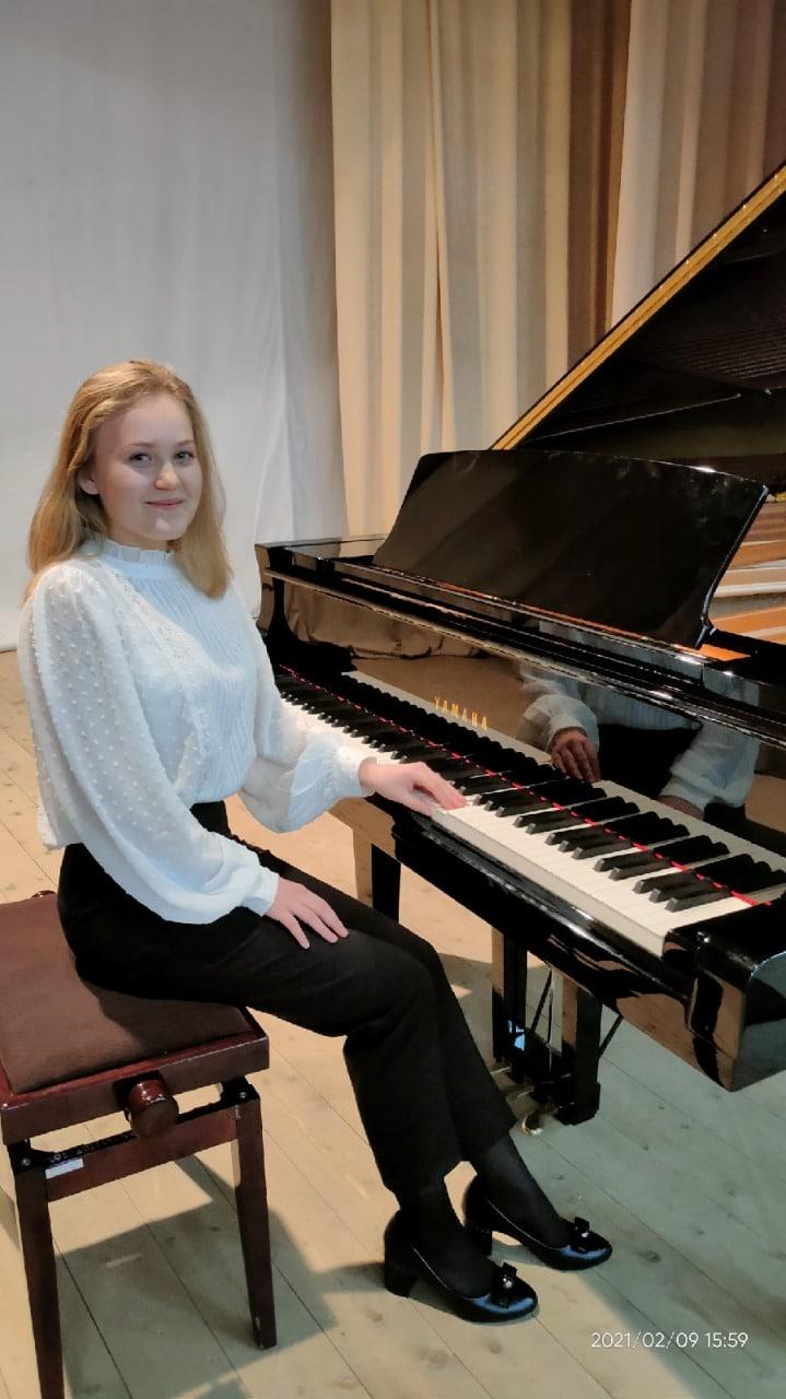 Коломенская пианистка стала призером всероссийского конкурса