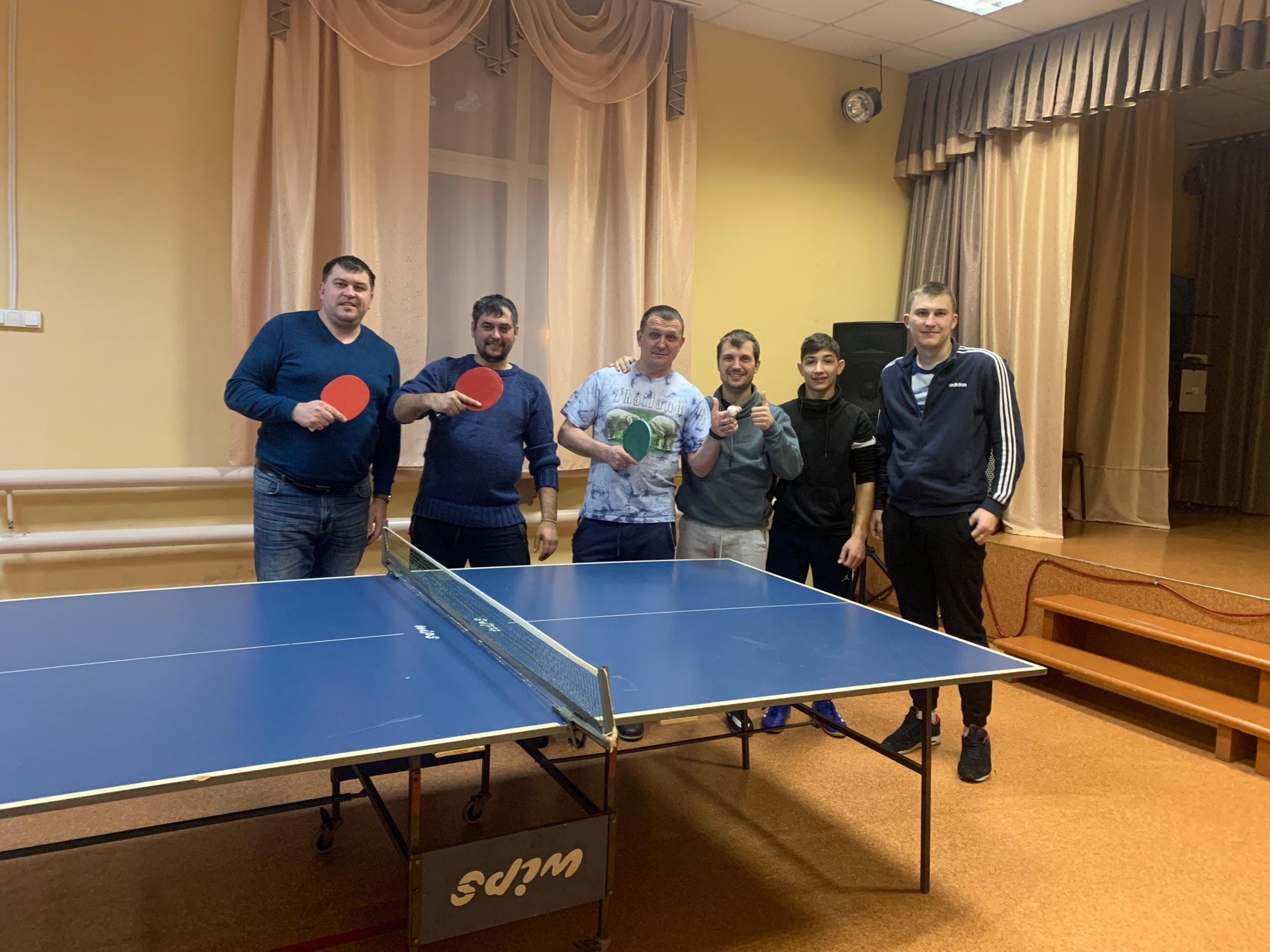 Турнир по теннису «Весёлая ракетка» провели в Полурядинском сельском клубе в Озёрах