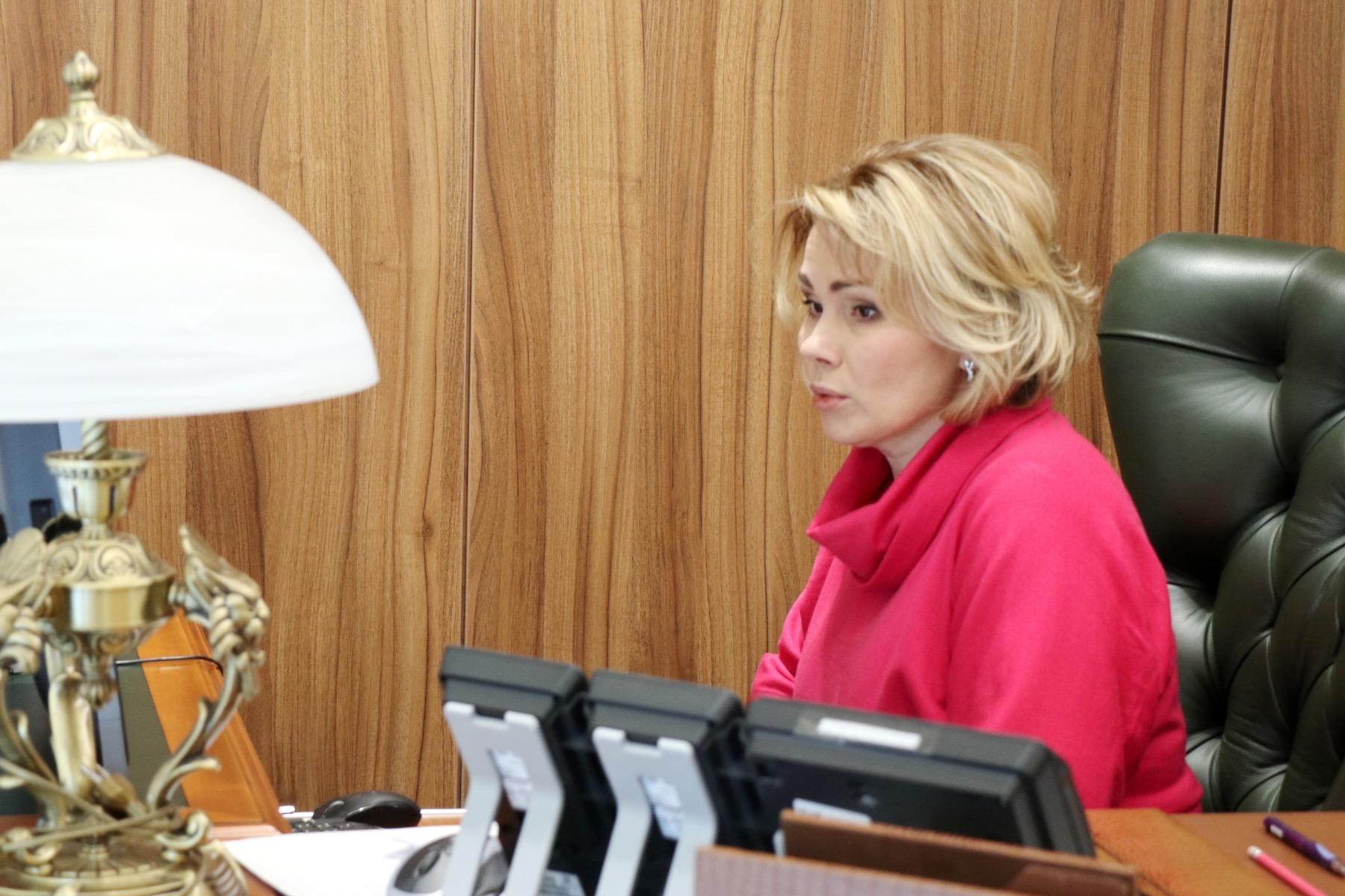 Екатерина Семёнова приняла участие в расширенном заседании Комитета Мособлдумы
