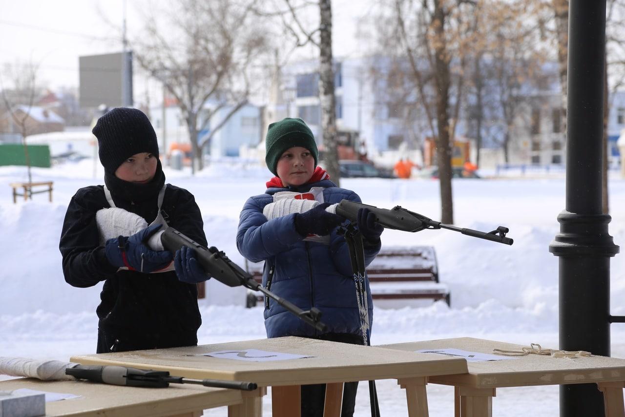 В Коломне провели соревнования «Запрудский биатлон»