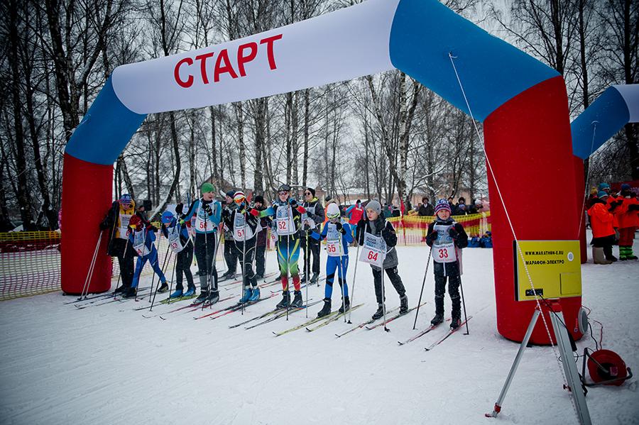 «Коломенская лыжня» прошла в парке 50-летия Октября