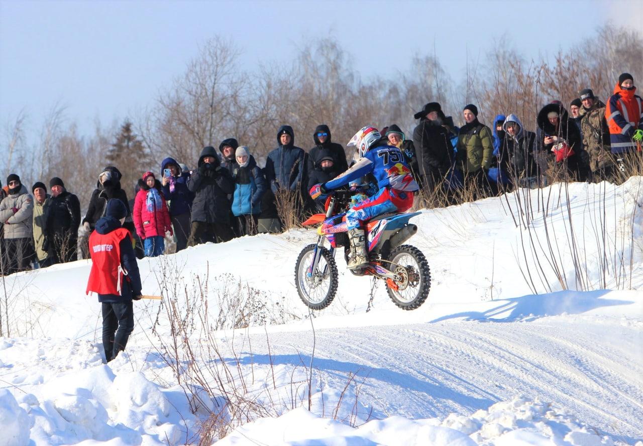 Мотокросс «Русская зима» состоялся в Коломне
