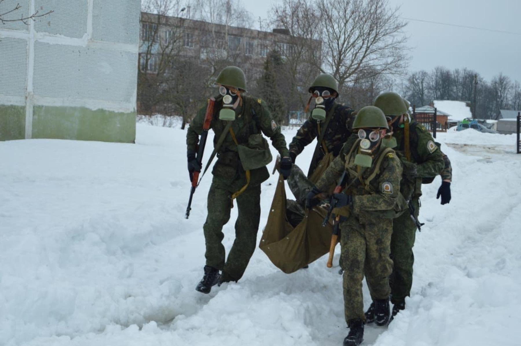 В Горской школе г. Озёры провели межрегиональную военно-патриотическую игру «Заряд»
