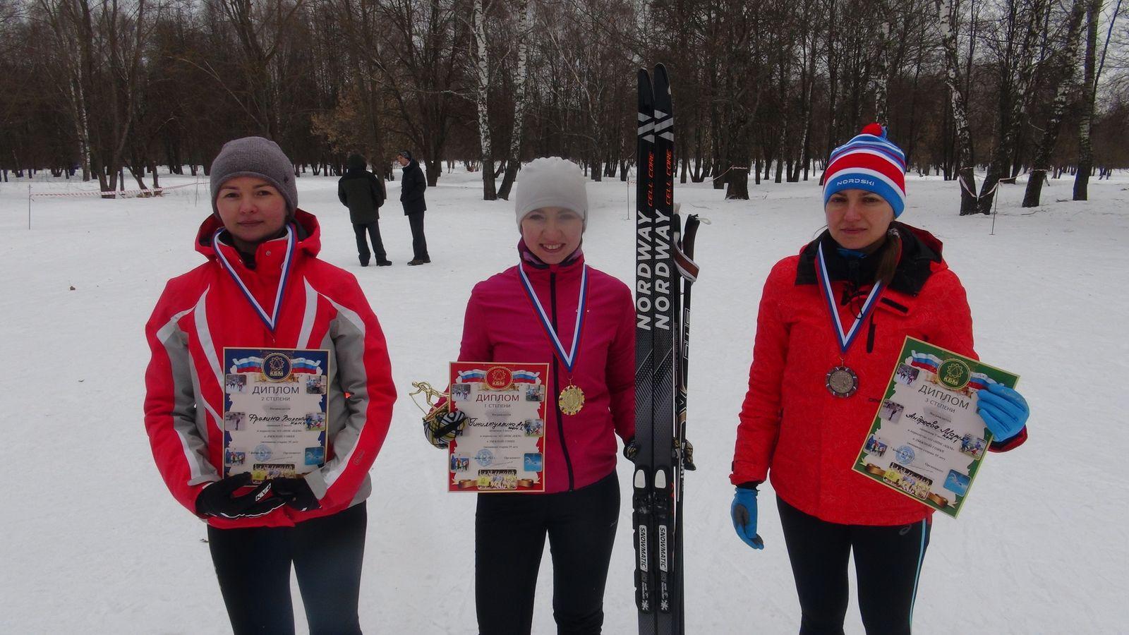 КОЛОМНАСПОРТ - Спорт в Коломне Лыжной гонкой спортсмены КБМ дали старт Спартакиаде – 2021