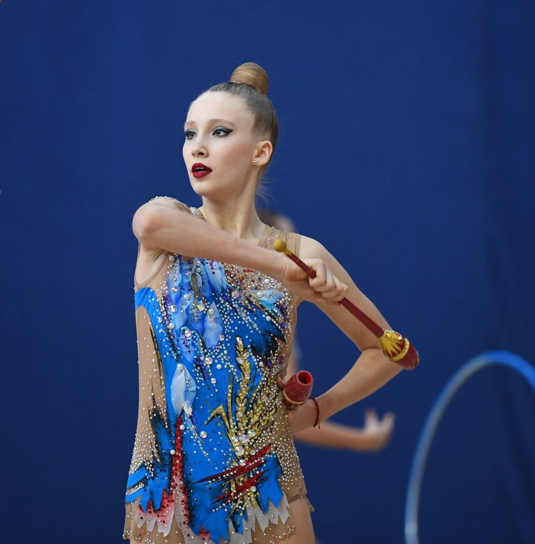 КОЛОМНАСПОРТ - Спорт в Коломне Озерчанка стала серебряным призёром Всероссийского турнира по художественной гимнастике «Звёзды Олимпа»