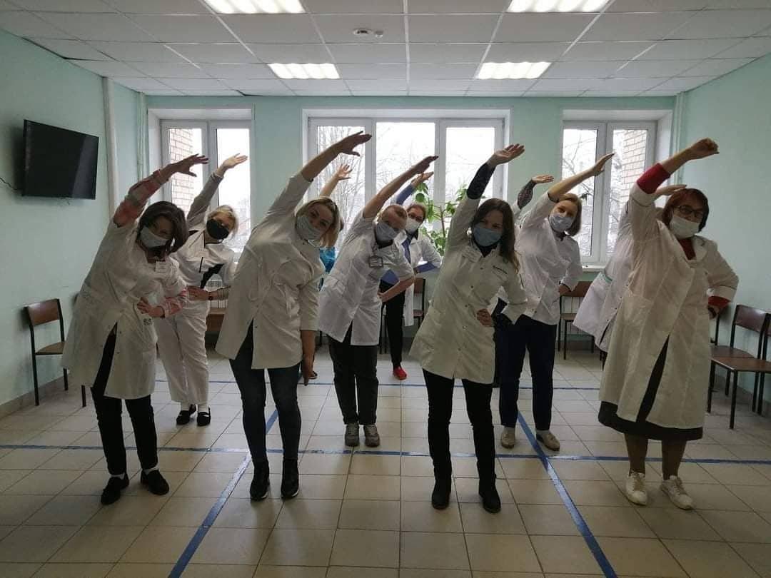 День здоровья прошел в Коломенской ЦРБ