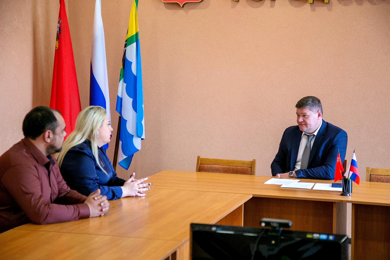 Денис Лебедев встретился с руководителями озерских предприятий