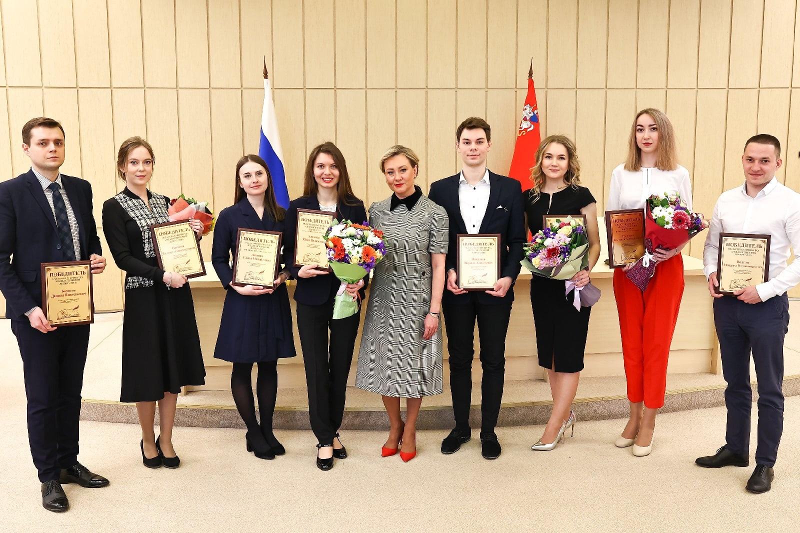 Коломенского учителя наградили в Доме Правительства в Красногорске