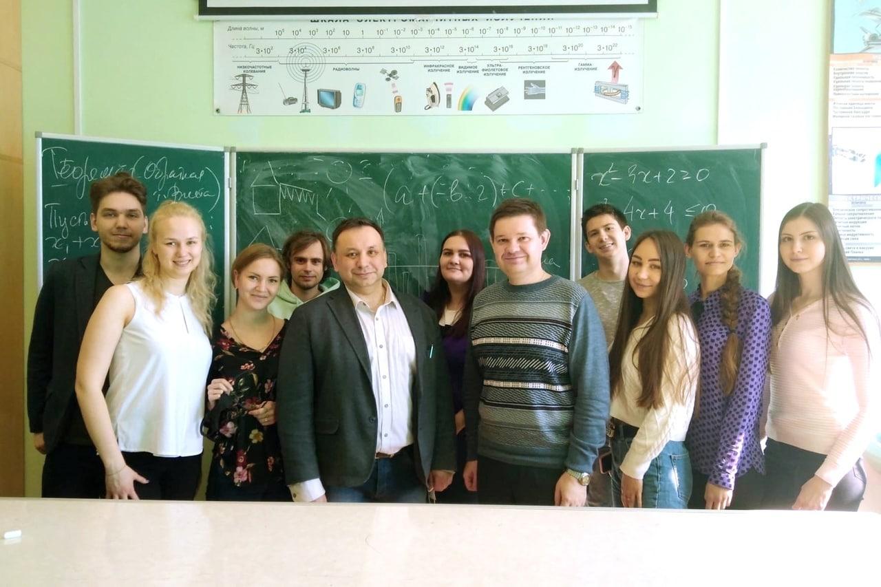 Преподаватель МГУ провел для коломенских студентов мастер-класс