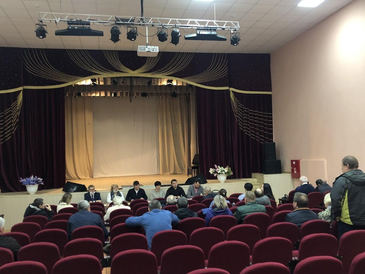 В Коломне продолжаются встречи с жителями населенных пунктов
