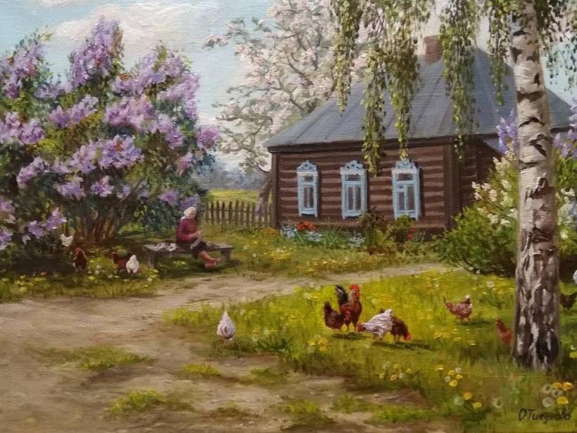 Время открытия выставки «Живая палитра» художницы Ольги Тикуновой изменилось!