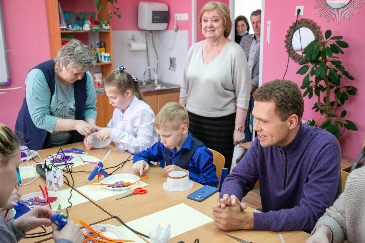Никита Чаплин поможет с трудоустройством воспитанников коломенского детского дома