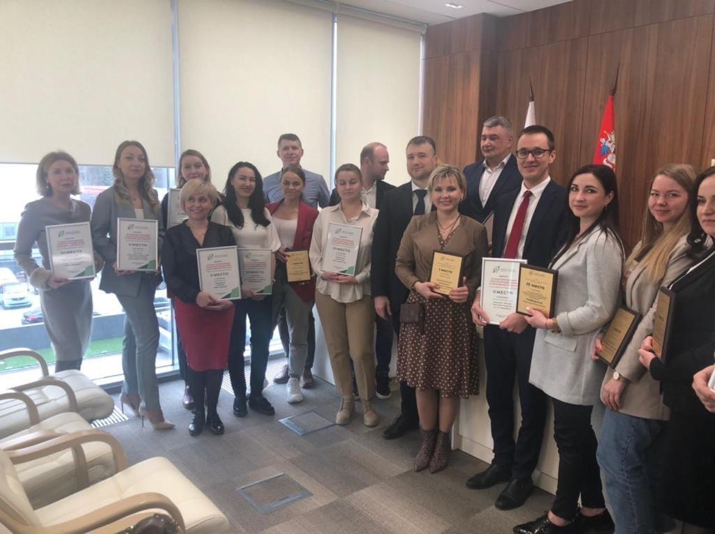 Коломенцев наградили в комитете по туризму Московской области
