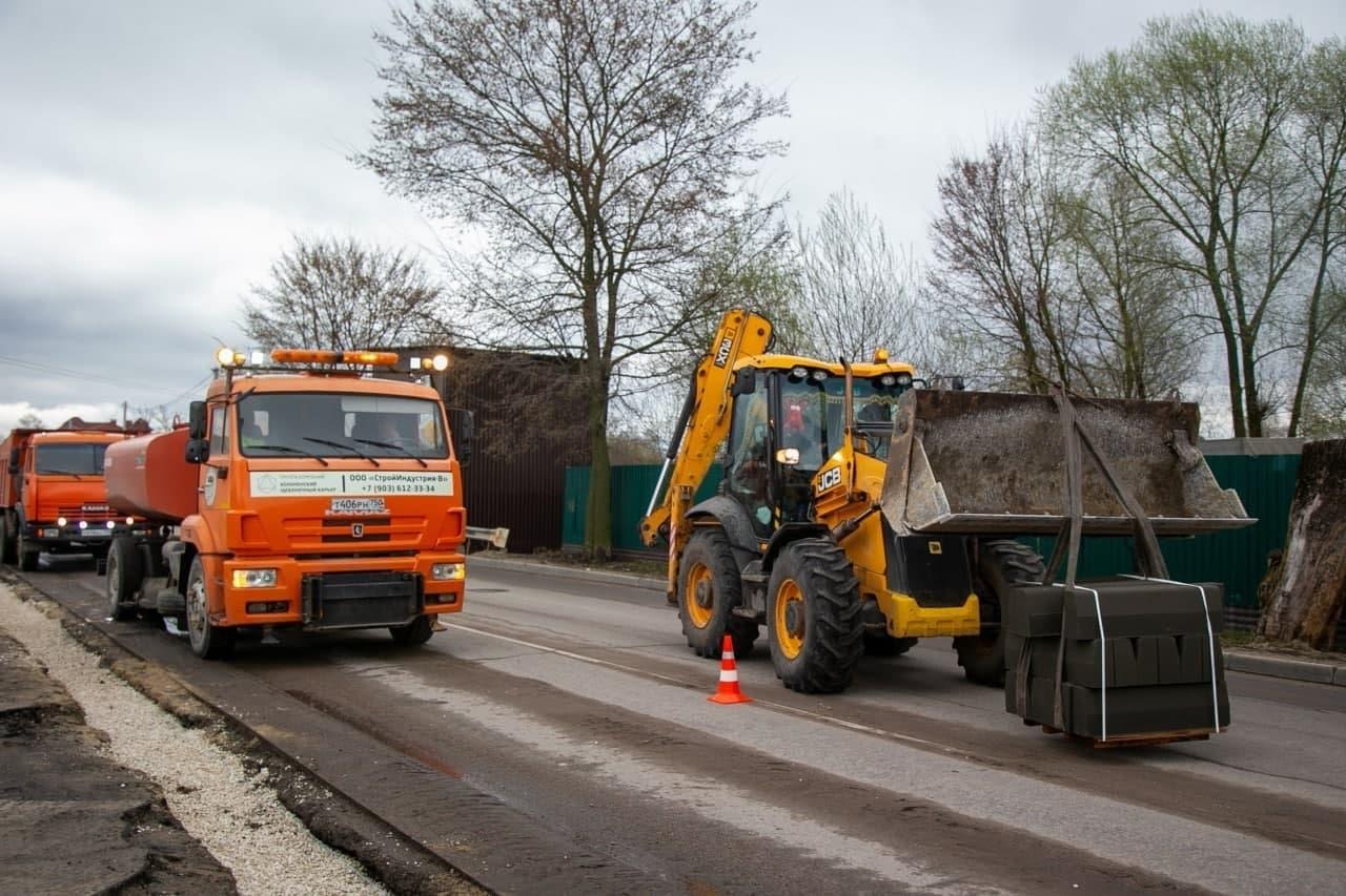 11 дорог отремонтируют в этом году в городе Озеры