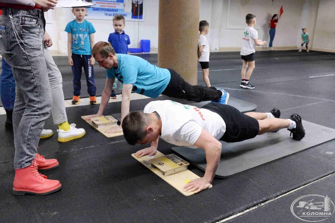 КОЛОМНАСПОРТ - Спорт в Коломне Коломенцы стали участниками соревнования «ГТО – всей семьей»