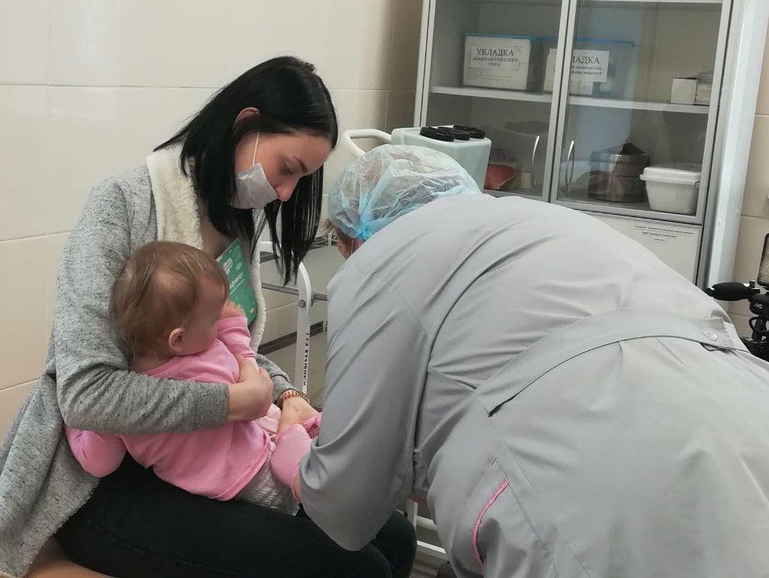Как будет работать детский прививочный кабинет в микрорайоне Щурово на этой неделе
