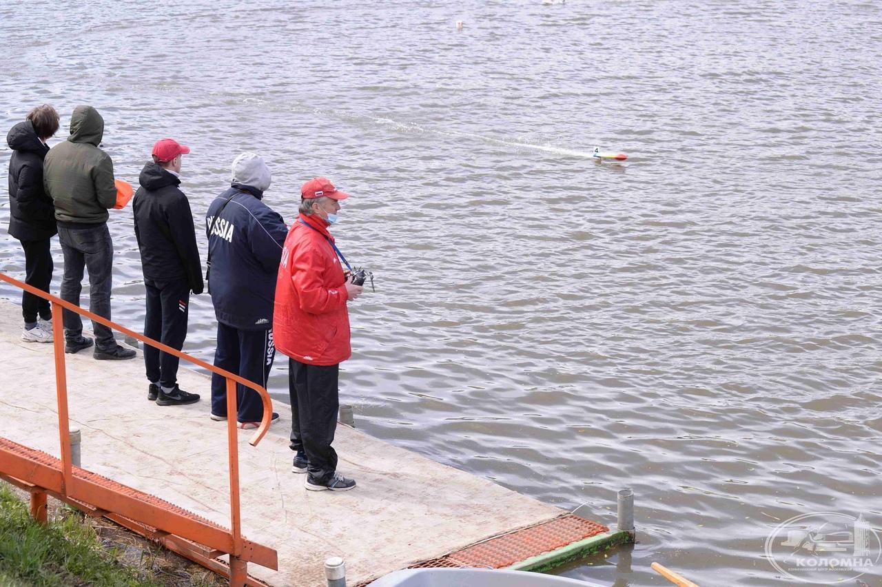 В Коломне проходят соревнования по судомодельному спорту за Кубок России