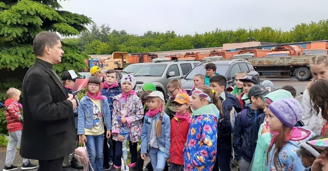 Юные экологи посетили площадку «Мегабак»