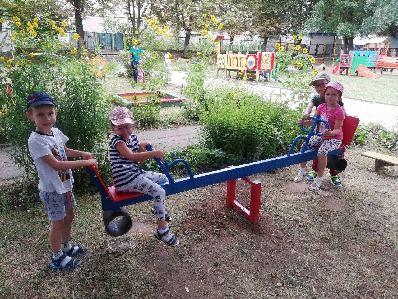 Новое игровое оборудование поступает в коломенские детские сады Коломны