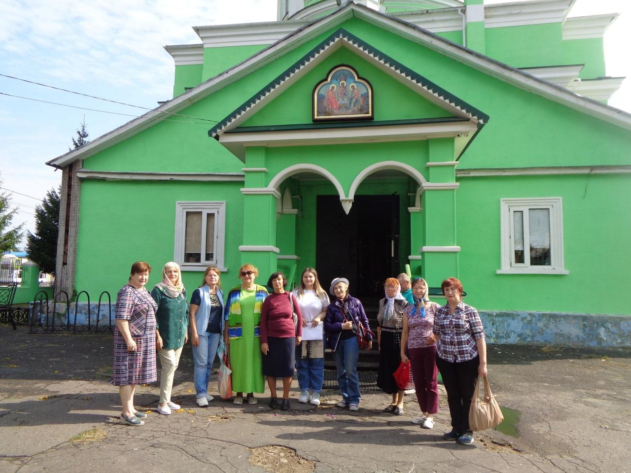 Ступинские участники клуба «Активное долголетие» посетили Озёры