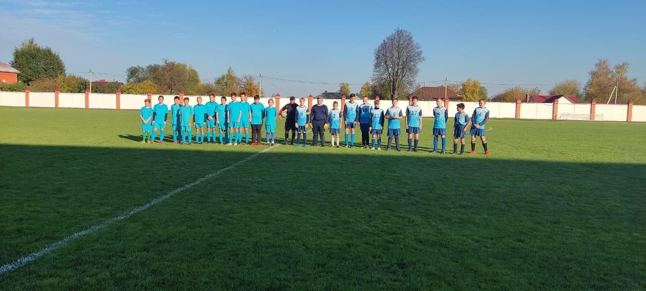 Озёрские футболисты выступили на первенстве Московской области