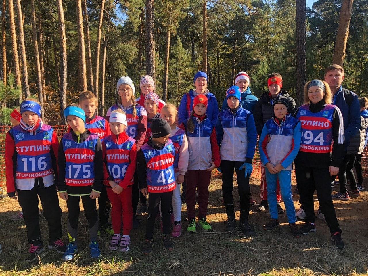 Озерчане стали победителями и призёрами открытого кросса в Ступине