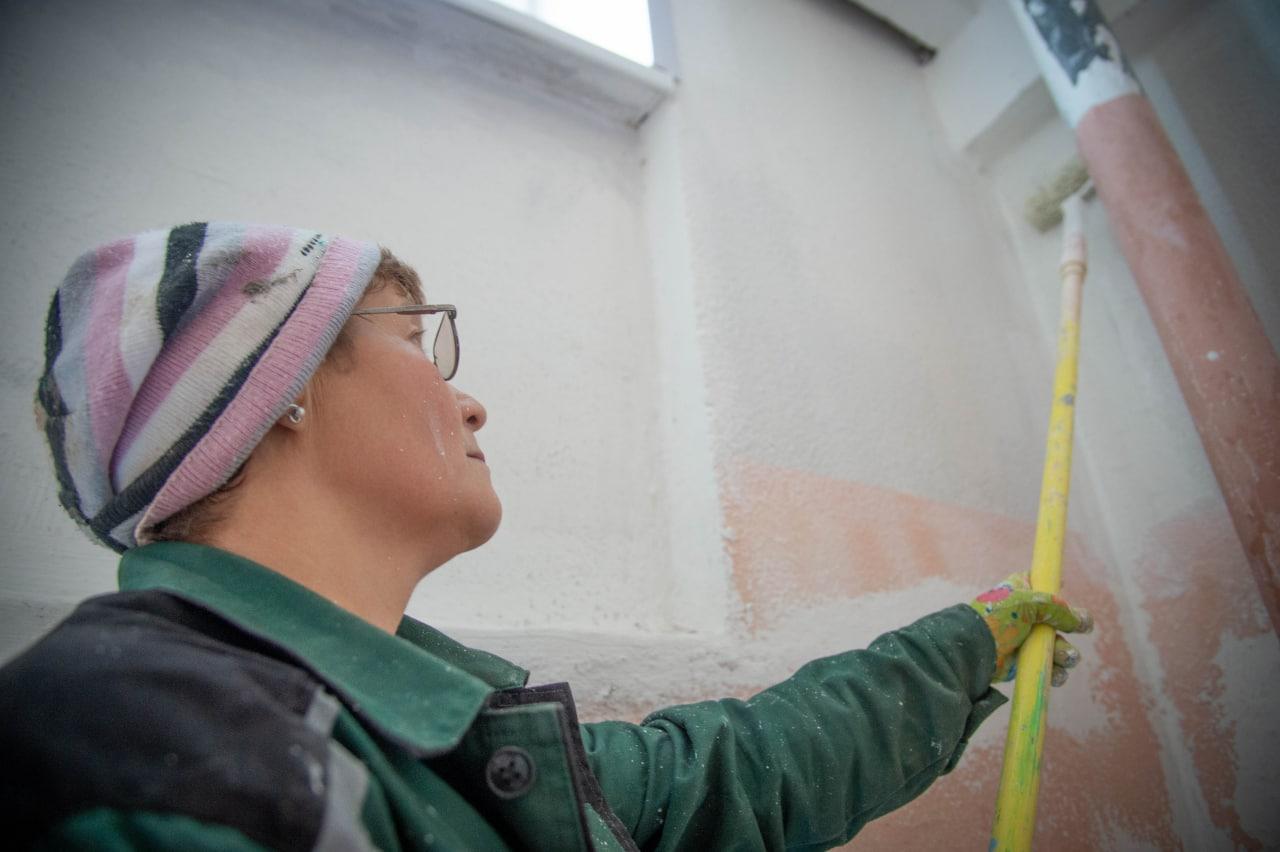 Новости Коломны   170 подъездов уже отремонтировали в этом году специалисты Департамента городского хозяйства Фото (Коломна)   iz zhizni kolomnyi