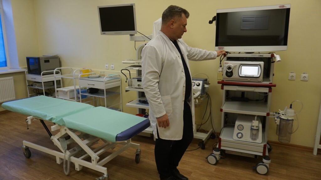 В Озёрскую ЦРБ поступило новое эндоскопическое оборудование