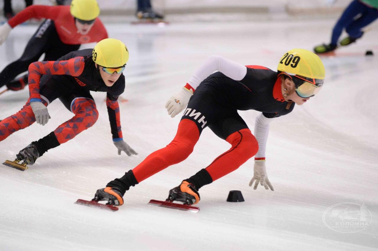 В Коломне проходят межрегиональные соревнования по конькобежному спорту