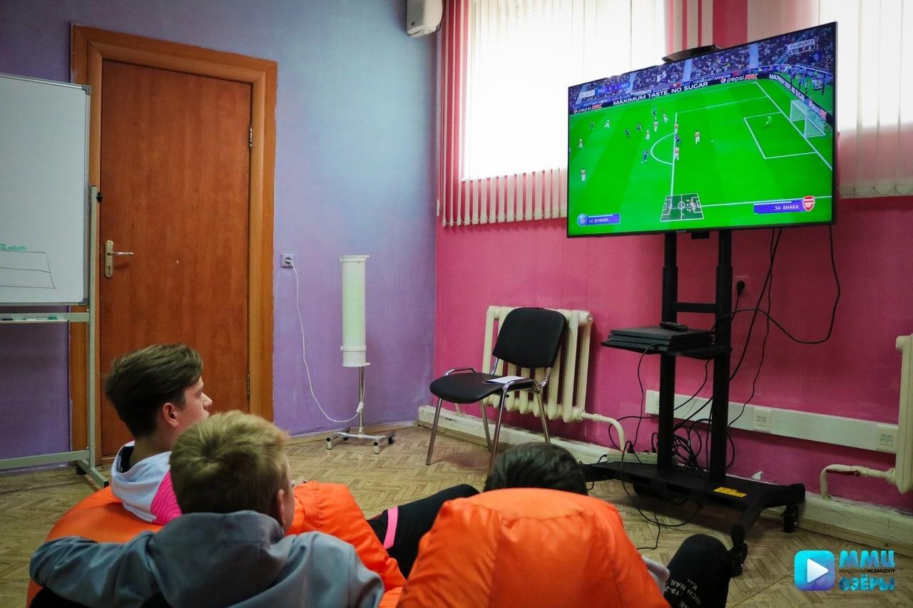 Киберспортивный турнир «FIFA 2019» состоялся в Озёрах