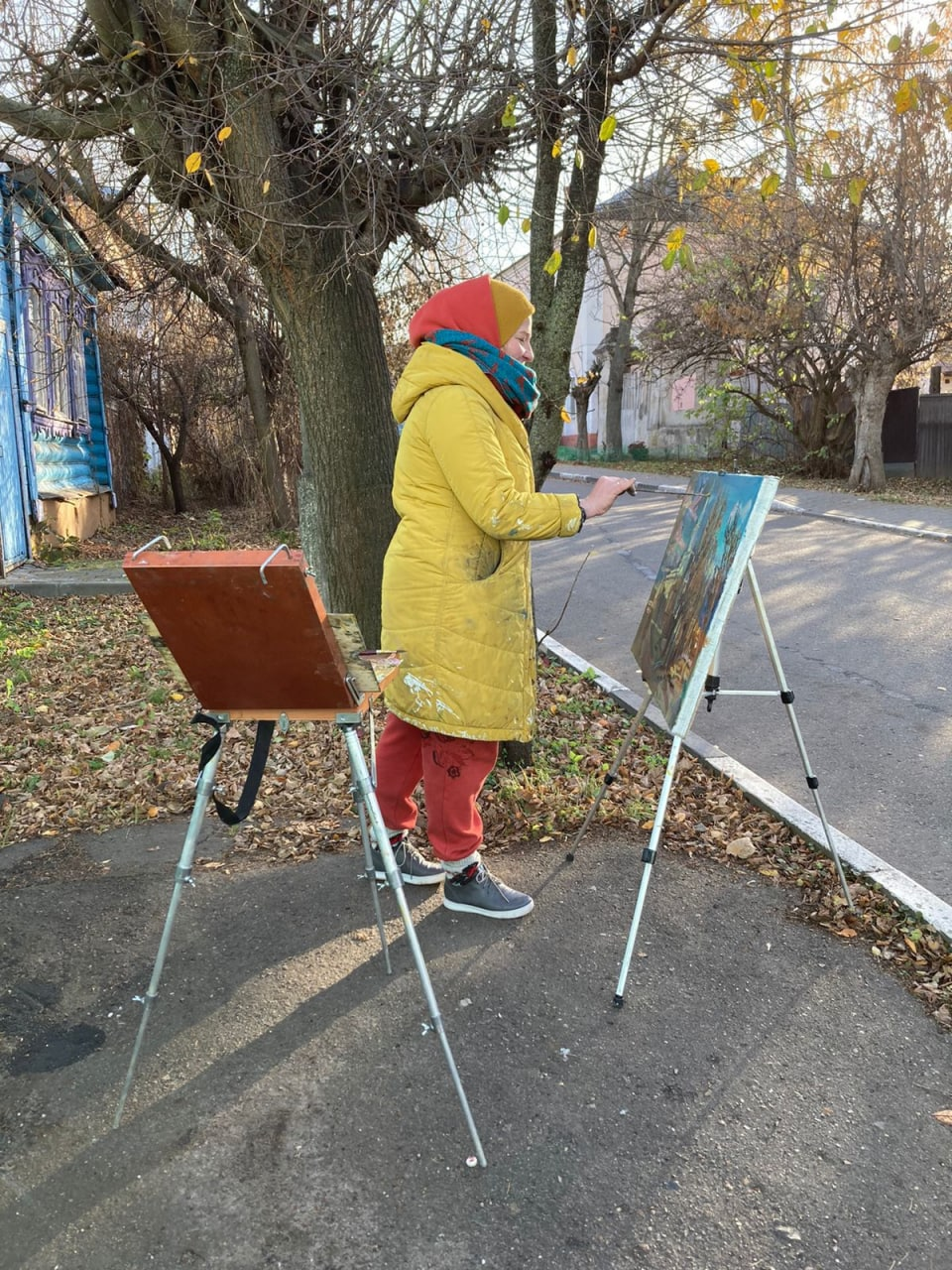 Пленэр имени Михаила Абакумова подходит к концу