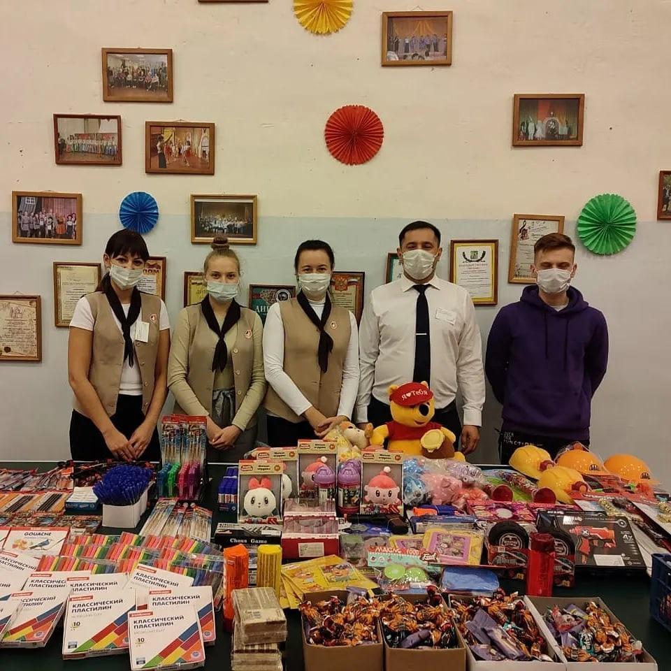 Благотворительную акцию провели сотрудники озёрского МФЦ
